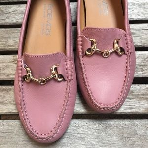 9a0758f70ca Boemos Leather Slip On Flats